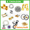 TARAZON brand hot sale motorcycle brake rotor sprocket cover foot pegs brake lever SUZUKI dirt bike accessories
