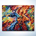 pintura abstrata 40x50 zhuhai truehearted crianças mulheres nuas