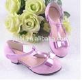Meninas princesa Gloss cintilante brilhante pérola saltos pó de ouro contas elegância últimas sapatos da moda