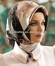 Noble wool tippet for fashion style hijab accessories