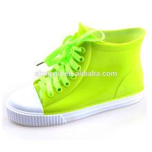 rain boots Singapore girls shiny shoes D-615