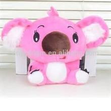 plush toys/pink koala plush toy/stuffed plush toy