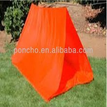 Promotion disposable PE tube/ shelter