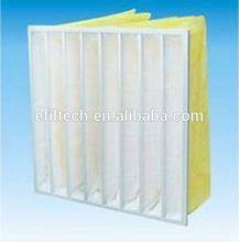 Quality F5-F9 manufacturer air filter efficiency g3 g4 f5 f6 f7 f8 dust bag filter