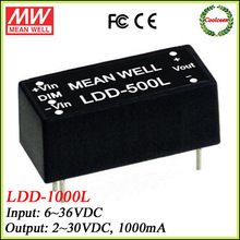 Meanwell 12vdc to 24vdc dc to dc converter 1000ma LDD-1000L