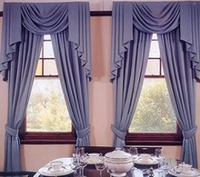 Yilian Popular Design Arabic Curtains for Living Room