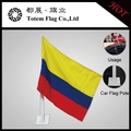 colombia bandiera sulla vettura