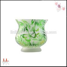 Romantic transparent cup candle vase tea cup
