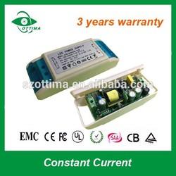 110V 220V input constant current led power supply 12w dimmable led driver 350ma 27-42Vdc for led downlightt