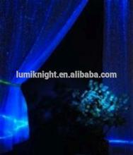 luminous fiber optic curtains for living room blackout curtain fabric