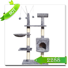 Wooden cat tree house cat houses cheap