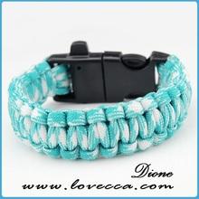 2015 New trendy wholesale wholesale top quality team logo paracord bracelet
