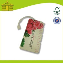 Design Stylish Custom Special Leisure Hang Tags/ Nightshirt Hang Tags Wholesale