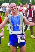 Marathon evaporative cooling vest by water