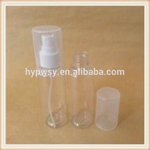 Plastic PET 60ml Bottle With Mist Sprayer and overcap