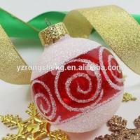 new design usa glass christmas ornament,wholesale high quality very glass christmas decoration