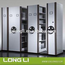 2014 Hot Sale Steel Metal Mobile Filing System/ Chrome Wire Sliding Shelf