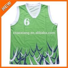 Guangzhou popular club fans fashion printed basketball jersey