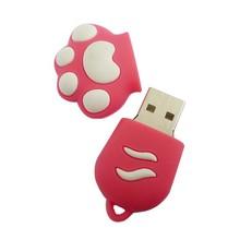 promotion items animal paw shaped usb flash drive