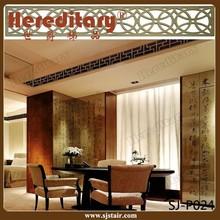 Antique brass aluminum curtain wall/decorative wall panel/decorative screen