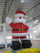 inflatable christmas santa claus cartoon