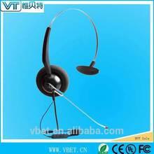landline headset noise cancelling call center headset USB type QD-Y Training