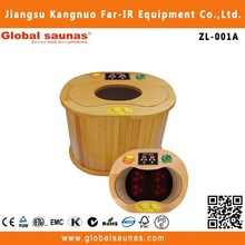 outdoor spa foot massage sauna room for infrared foot and leg spa ZL-001A