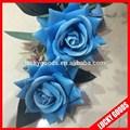 оптовая высокое качество бархата описание розы в синий цвет