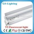 twin tube t5 2x36w luminaires fluorescents avec brackect série