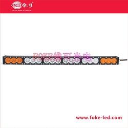 China Supplier 180W LED Auto Light bar orange light +white light