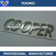 Cooper chrome logo auto badge emblem