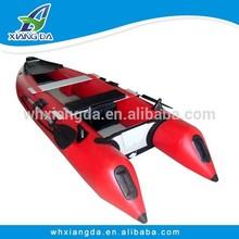 PVC Hull Material Inflatable Fishing Kayak of China