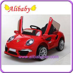 Alison C01101 2014 new model open door children electric toy car price