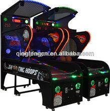 Luxury electronic basketball scoring machine street hoop basketball machine