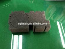 Waterjet cut PU foam package box