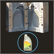 plastic blow molding mold molding 15ml cobalt glass dropper bottle mould medicine