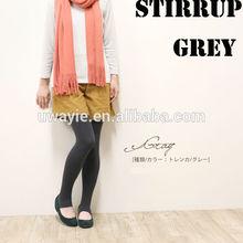 women ladies sexy warm winter Plush stirrup solid tights Leggings/Grey (8colours,Bk,Nv,Gn,Be,Br,Gr,WIne,Purple)