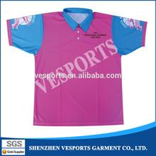 Fashion design body fit badminton shirt
