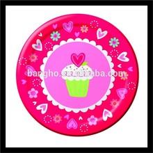 nice design girls graduation paper plates