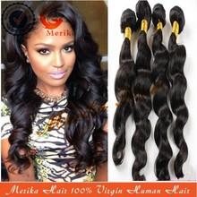 2014 hot sell get free hair extensions,AAAAA grade cheap human hair extensions buy one get one free