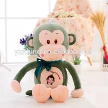 60cm plush big mouth monkey 500g soft stuffed toy
