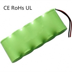 3000mah rechargeable batteries pack 6v nimh sc size