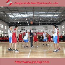 modern basketball hall