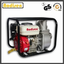 3 inch GP80, CE approved, 80mm 6.5hp, 168F-1 honda engine, self priming, hot sale, silent portable gasoline water pump