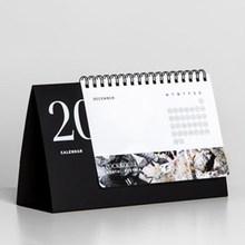 Full color printed custom table calendar 2015