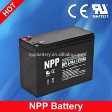 12V 9AH AGM SMF VRLA Storage Solar Battery Manufacturer
