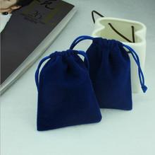 Blue Jewelery Velvet gift Pouch/Bag