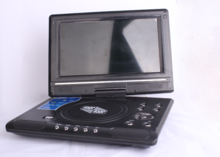 Cheap portable dvd player with mp4 rotate screen 7 inch and 9 inch housing