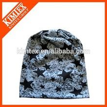 Custom printed mens cotton jersey cap