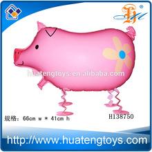 2014 Hot sale Walking Animal Cartoon Helium Foil Balloon ,Walking Balloon Walking Animals Walking Pet Balloons H138750